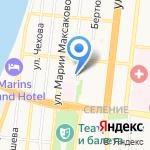 Магазин живой рыбы на карте Астрахани
