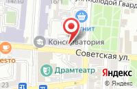 Схема проезда до компании МойВояж в Астрахани