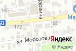 Схема проезда до компании Истамбул в Астрахани