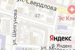Схема проезда до компании 7 Луза в Астрахани