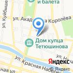 Впиве на карте Астрахани