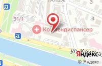 Схема проезда до компании Асткомплект в Астрахани