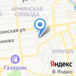Таис-авто на карте Астрахани