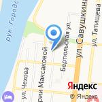 АСРП ВОИ Комбинат металлоизделий на карте Астрахани
