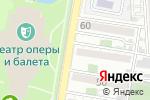 Схема проезда до компании Школа инноваций в салонном бизнесе в Астрахани