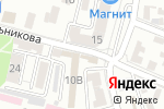 Схема проезда до компании Азурит в Астрахани