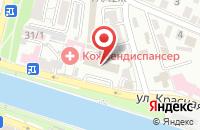 Схема проезда до компании Паритет в Астрахани