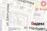 Схема проезда до компании Ярканон в Астрахани