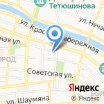 Ярканон на карте Астрахани