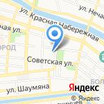 Gabzov на карте Астрахани