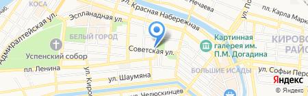 Шарм на карте Астрахани