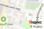 Схема проезда до компании Аполлон в Астрахани