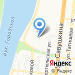 Гимназия №1 с дошкольным отделением на карте Астрахани