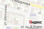 Схема проезда до компании ПожСпецМонтаж в Астрахани