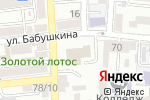 Схема проезда до компании Одиссей-Шиппинг в Астрахани