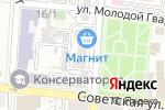 Схема проезда до компании Первая медицинская сервисная компания в Астрахани