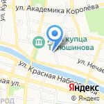 Терма на карте Астрахани