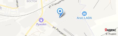 Кондмаш на карте Астрахани