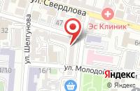 Схема проезда до компании Автореал в Астрахани