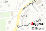 Схема проезда до компании Мегасервис в Астрахани