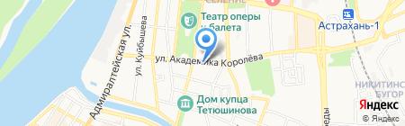 ИМПЕРАDOOR на карте Астрахани