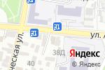 Схема проезда до компании Кураж в Астрахани