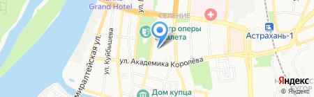 Техальянс инжиниринг на карте Астрахани