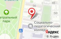 Схема проезда до компании Техальянс инжиниринг в Астрахани