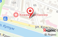 Схема проезда до компании Клин Сити в Астрахани