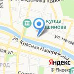 ТАН на карте Астрахани