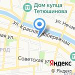 Дом-музей В. Хлебникова на карте Астрахани