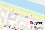 Схема проезда до компании Интерьер в Астрахани