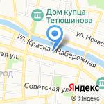 Интерьер на карте Астрахани