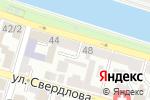 Схема проезда до компании Астраханская независимая оценка в Астрахани