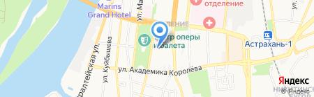 Ремонтная фирма на карте Астрахани