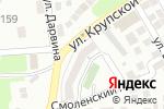 Схема проезда до компании Альпсервис в Астрахани