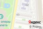 Схема проезда до компании Солярис в Астрахани