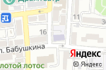 Схема проезда до компании Рябинка в Астрахани