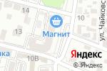 Схема проезда до компании Даирчик-ДЖУНГЛИ в Астрахани
