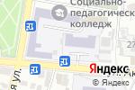 Схема проезда до компании Союз Дизайнеров России в Астрахани