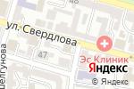 Схема проезда до компании U Hostel в Астрахани