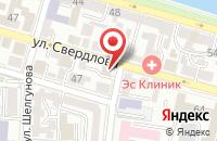 Схема проезда до компании Маки в Астрахани