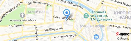 Прокуратура по надзору за соблюдением законов в исправительных учреждениях Астраханской области на карте Астрахани