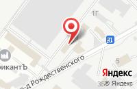 Схема проезда до компании Мастер-Класс в Астрахани