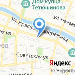 U Hostel на карте Астрахани