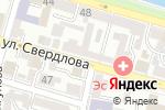 Схема проезда до компании Союз театральных деятелей РФ в Астрахани