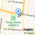 Елочка на карте Астрахани