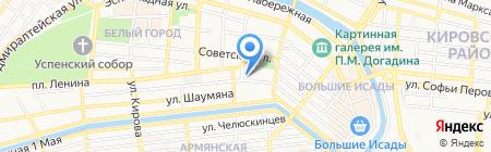 Детский сад №39 на карте Астрахани