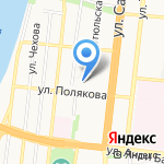 Покровское на карте Астрахани
