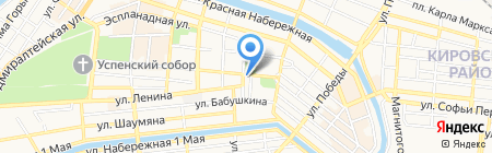 Фирма по продаже черного металла для судостроения на карте Астрахани